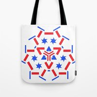 patriotic Tote Bags featuring Patriotic by Robin Curtiss