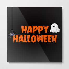 The Happy Halloween I Metal Print