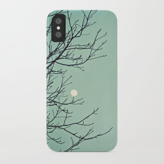 Holding the moon iPhone Case