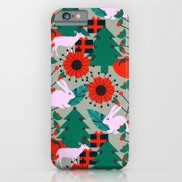 Jolly Christmas crew iPhone Case