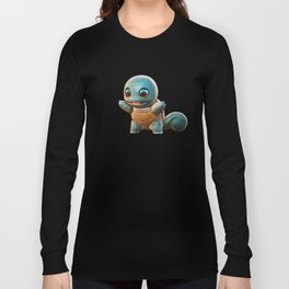 Realistic Squirtle Long Sleeve T-shirt