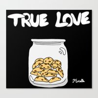 cookies Canvas Prints featuring Cookies by Firielle