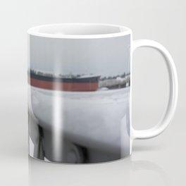Snow-capped Bridge Coffee Mug
