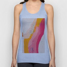 Abstract Line Shades Unisex Tank Top