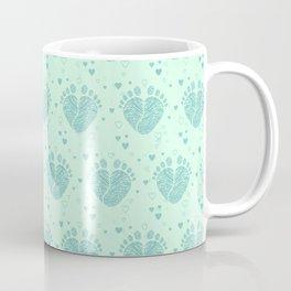 Baby feet background  3 Coffee Mug