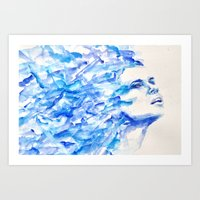 Breatheless Art Print
