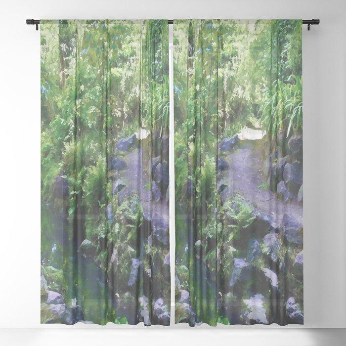 3 ways Sheer Curtain