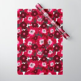 Flowers Overflowing Wrapping Paper
