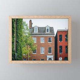 Historic Fells Point Framed Mini Art Print