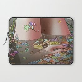 Flower Bath 3 Laptop Sleeve