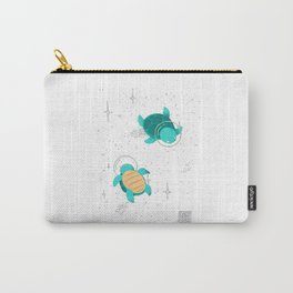 Space Turtles Carry-All Pouch