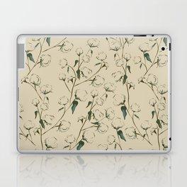 Cotton Bolls Laptop & iPad Skin