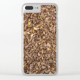 Winter Fall Clear iPhone Case