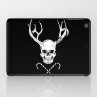 xmas iPad Cases featuring Creepy Xmas by Evgenia Chuvardina