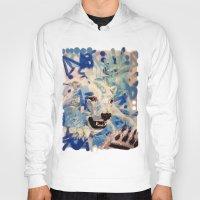 polar bear Hoodies featuring Polar Bear by Michael Hammond
