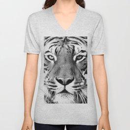 Tiger, Animal, Scandinavian, Minimal, Trendy decor, Interior, Wall art Art Unisex V-Neck