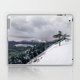 Views of Derwent Water from Latrigg, covered in snow. Cumbria, UK. Laptop & iPad Skin