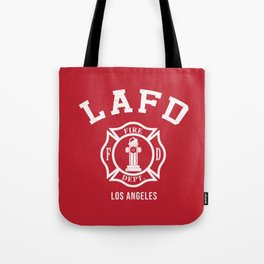 LA Firefighters Tote Bag
