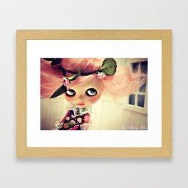 My Delicious Bliss Custom Lola Framed Art Print