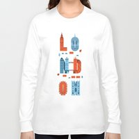 london Long Sleeve T-shirts featuring London by Wharton
