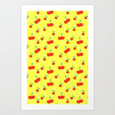 Very Cherry Art Print