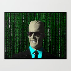 max meets matrix Canvas Print