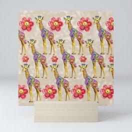 Sweet Giraffe Mini Art Print
