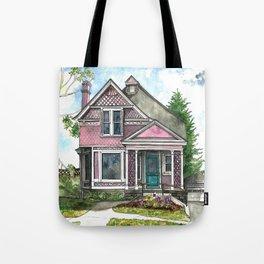 The Violet Lady in Spring Tote Bag