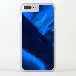 Light Refraction v12 Clear iPhone Case