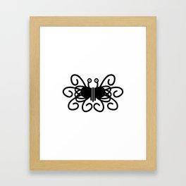Pastafarian Flying Spaghetti Monster Framed Art Print