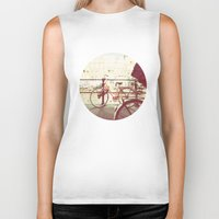 amsterdam Biker Tanks featuring Amsterdam by GF Fine Art Photography
