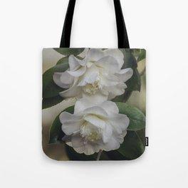 Romantic White Vintage Flowers, Nature Prints, Flower Photography Tote Bag