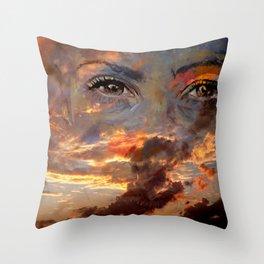 BERRIN SKY Throw Pillow