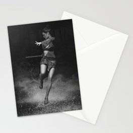 Entering Heavenly Land B&W Stationery Cards