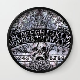 Ouija Board Wall Clock