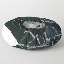 """What is """"real""""? (Morpheus) Floor Pillow"""