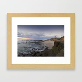 La Jolla Sunset, San Diego, California Framed Art Print