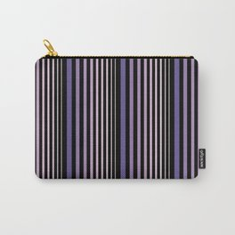 Midnight Stripes Carry-All Pouch