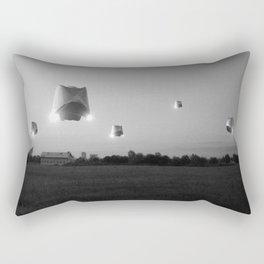 Run n Hide_BW Rectangular Pillow