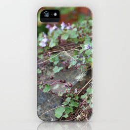 Creeping Flowers iPhone Case