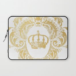 Gold Crown Laptop Sleeve