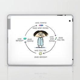 Medicinal Cures and Causes Laptop & iPad Skin
