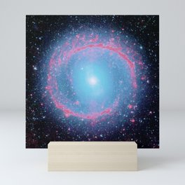 Lying in a zero circle ii Mini Art Print