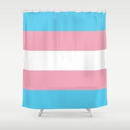 Transexual Flag Shower Curtain