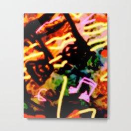 Matisse Notes Metal Print