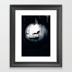 Keeping Up With Halloween Framed Art Print