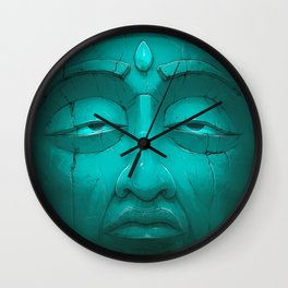 Buddha I. Wall Clock