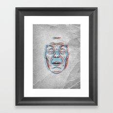 David Warner Framed Art Print