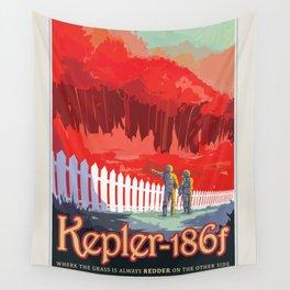 NASA Visions of the Future - Kepler-186f Wall Tapestry