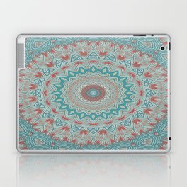 Tribal Medallion Teal Laptop & iPad Skin